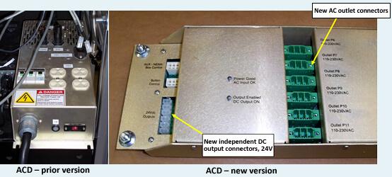 ACD Upgrade